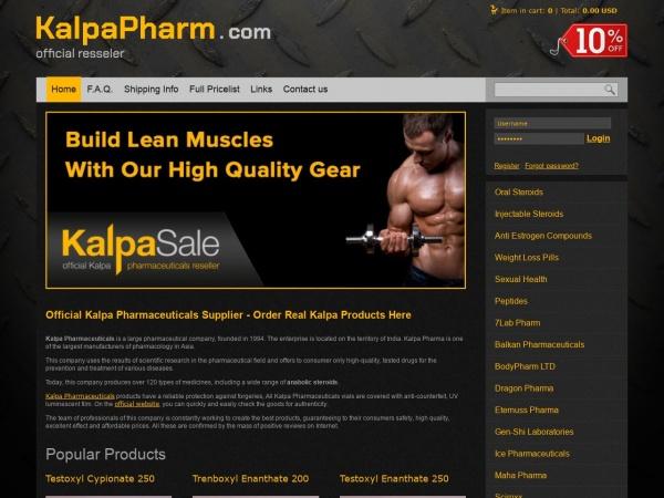 kalpapharm.com - legit source