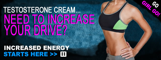 Testosterone Cream for a Woman